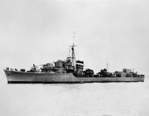 HMS Laforey was a L-class destroyer of the Royal Navy. She was commissioned in and served during the Second World War, and was torpedoed and sunk by a U-boat in 1944.