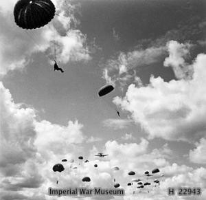Parachute Regiment training jump1942