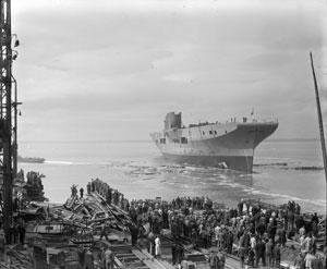 Barrow Docks WW11