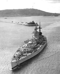 HMS Nelson - British Battleship