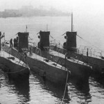 U-Boats in dock