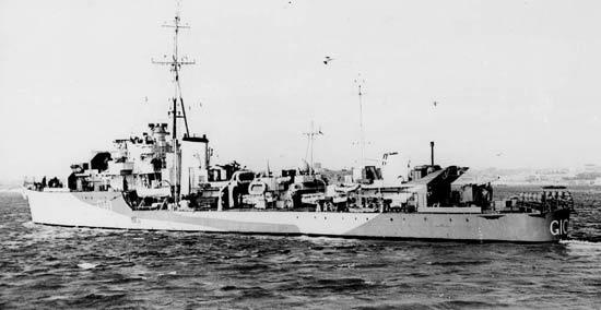 HMS Pathfinder 1942